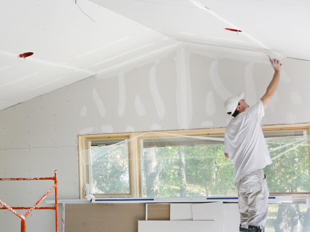 Sheetrock Drywall Repair-1 25th June'20
