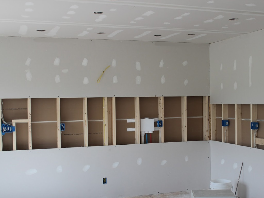 Sheetrock Drywall Repair-2 25th June'20