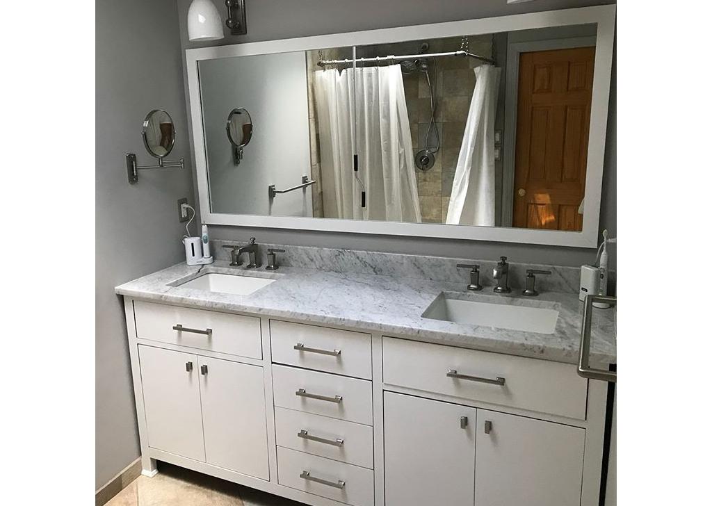 Interior Painting- bathroom