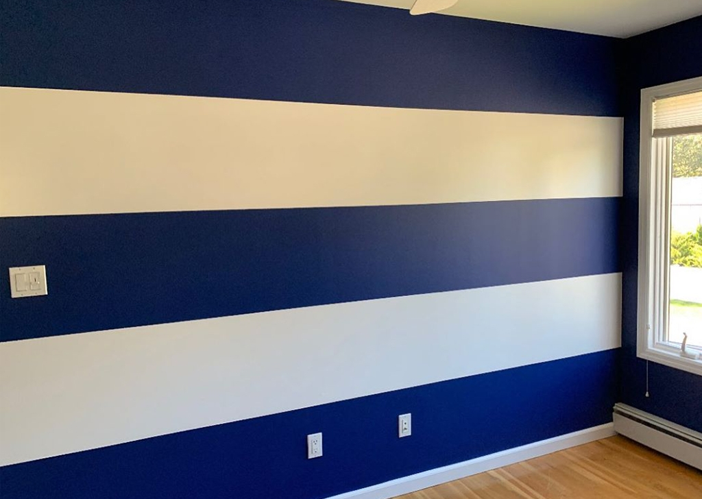 Interior Painting- wall accent